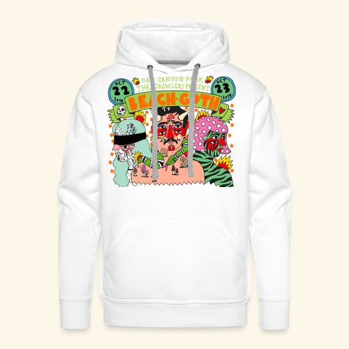 beach goth 2016 - Sweat-shirt à capuche Premium pour hommes