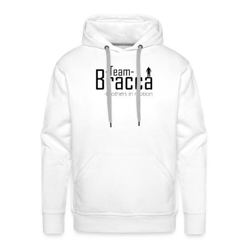Black Bracca logo - Herre Premium hættetrøje