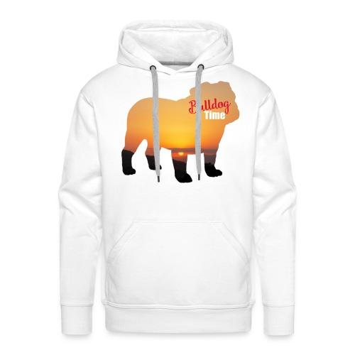 Bulldog Summer Time - Sudadera con capucha premium para hombre