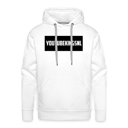 YoutubeKingsNL Bar Logo - Mannen Premium hoodie