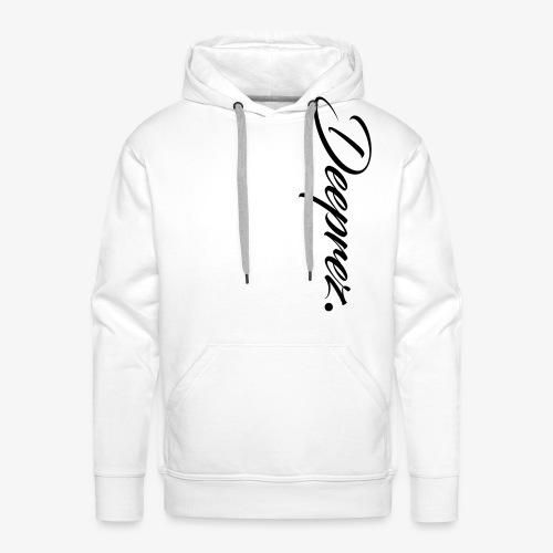 Deeprez Sweatshirt White - Sweat-shirt à capuche Premium pour hommes