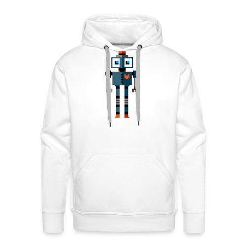 Blue Robot - Men's Premium Hoodie