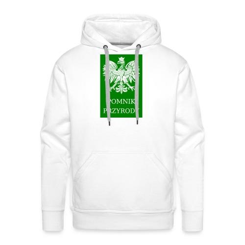 POL_Pomnik_Przyrody-svg - Bluza męska Premium z kapturem