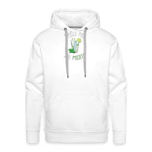 J'PEUX PAS J'AI MOJITO - Sweat-shirt à capuche Premium pour hommes