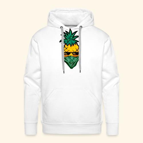 Gangsta Pineapple - Männer Premium Hoodie