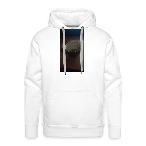 Melancholijny Kubek - Bluza męska Premium z kapturem