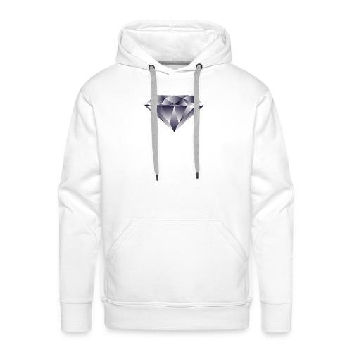 Diamond - Felpa con cappuccio premium da uomo