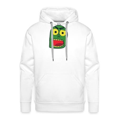 zombiekopf - Männer Premium Hoodie