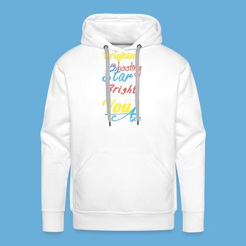 Shooting Star - Mannen Premium hoodie