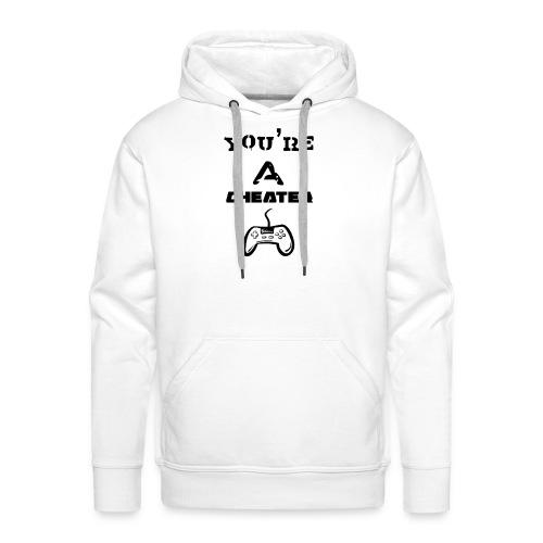Cheater - Sweat-shirt à capuche Premium pour hommes