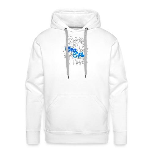 Sea Flow teschio abbigliamento - accessori - Felpa con cappuccio premium da uomo