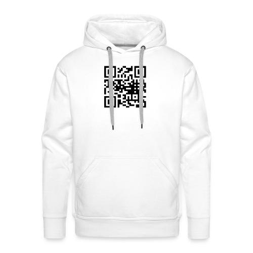 QR Code - Männer Premium Hoodie