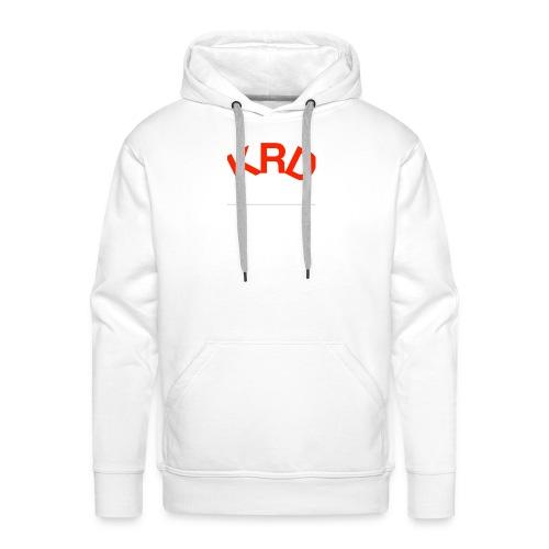 KRD - Sweat-shirt à capuche Premium pour hommes