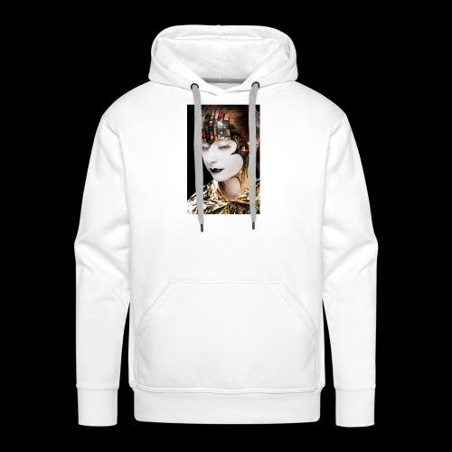 klimt 01 - Sweat-shirt à capuche Premium pour hommes