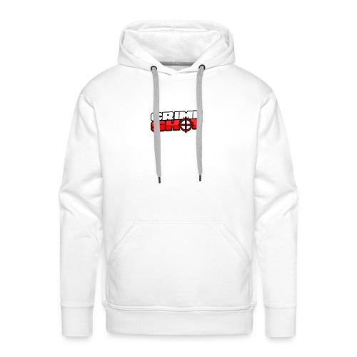 Crimeshot New Logo - Men's Premium Hoodie