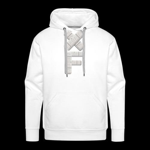 XF Xanax Logo - Männer Premium Hoodie