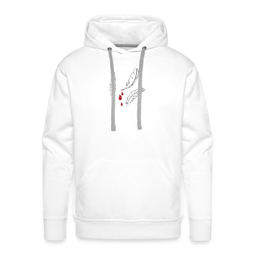 Dove Feathers in Blood - Männer Premium Hoodie