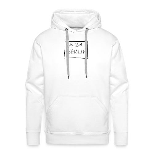 ICK BIN BERLIN - Männer Premium Hoodie