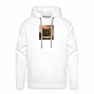 Why am I so scared of strangers? - Men's Premium Hoodie
