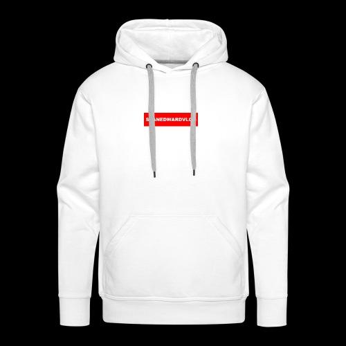 seanedwardvlogs red box style - Men's Premium Hoodie