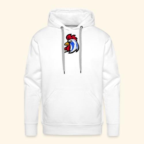 Le Coq ! - Sweat-shirt à capuche Premium pour hommes