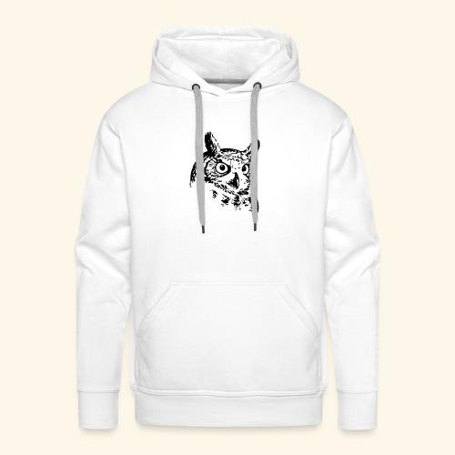 Owl - Männer Premium Hoodie