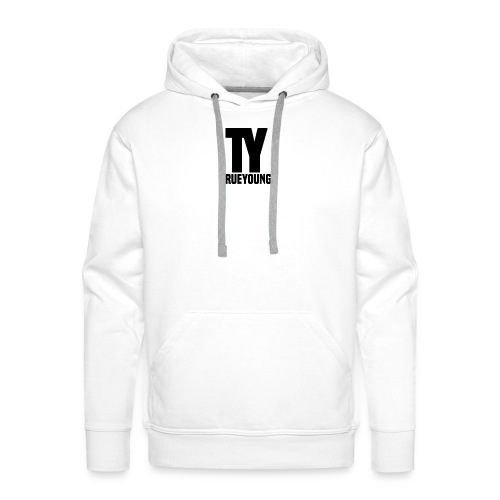 True Young Hoodie Grey | Unisex - Mannen Premium hoodie