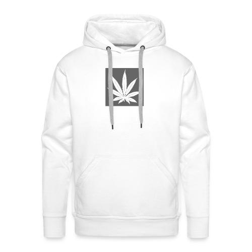 Cannabis - Sweat-shirt à capuche Premium pour hommes