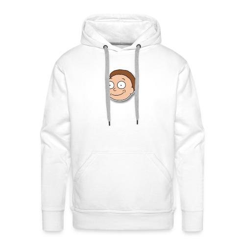 Happy Morty - Sweat-shirt à capuche Premium pour hommes