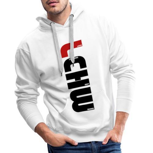 LOVE CARIBBEAN HEAT WOMEN - LCHW - Sweat-shirt à capuche Premium pour hommes