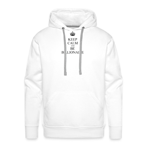 Keep Calm T shirt - Mannen Premium hoodie