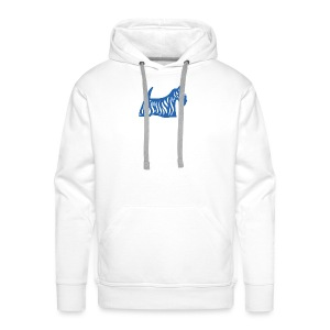 Founded in Scotland logo - Men's Premium Hoodie