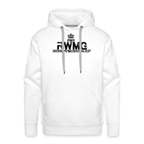 RWMG_Black 2 - Mannen Premium hoodie