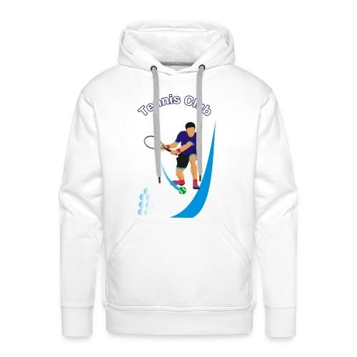 Tennis Club - Sweat-shirt à capuche Premium pour hommes