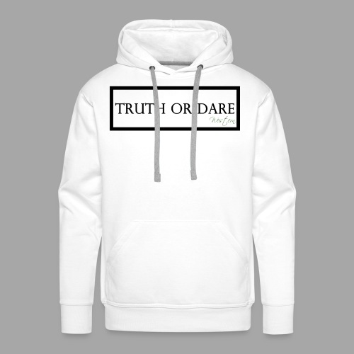 Western Truth or Dare Tee - Men's Premium Hoodie