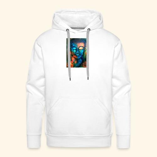 Colour Buddha - Sudadera con capucha premium para hombre