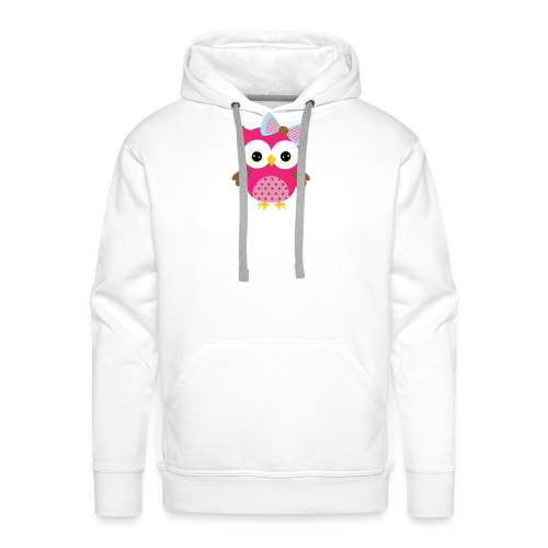 Girly Owl - Men's Premium Hoodie