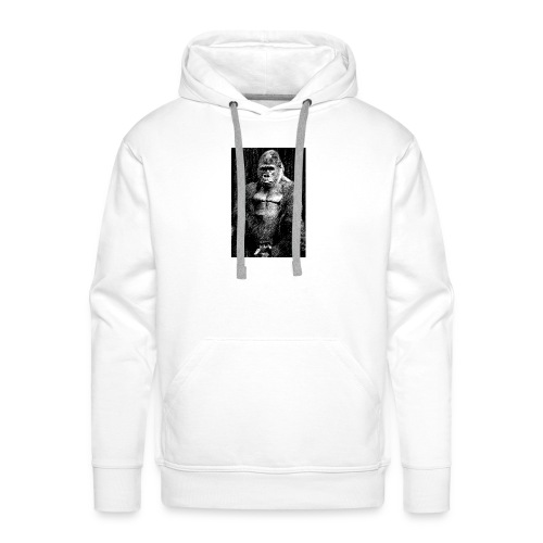 Gorilla - Sweat-shirt à capuche Premium pour hommes