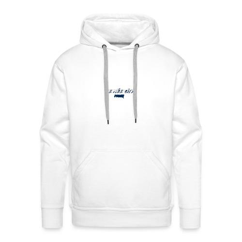 le mée - Sweat-shirt à capuche Premium pour hommes
