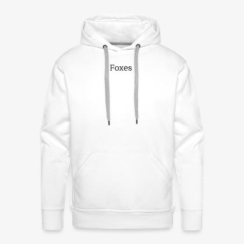Foxes Hoodie Design - Men's Premium Hoodie