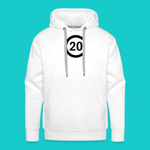 cal20 sailing class logo - Männer Premium Hoodie