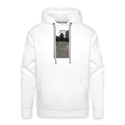 Le grand saut - Sweat-shirt à capuche Premium pour hommes