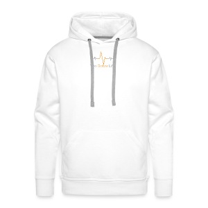 The Better Life Logo - variable beat - Men's Premium Hoodie