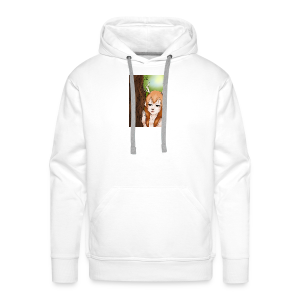 Sam sung s6:Deer-girl design by Tina Ditte - Men's Premium Hoodie