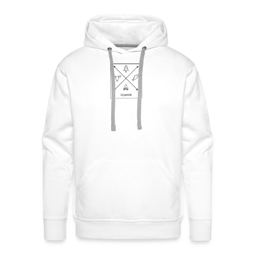 UrjaminB - Sweat-shirt à capuche Premium pour hommes