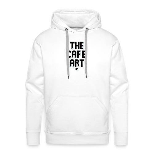 CafeArt 2012 - Felpa con cappuccio premium da uomo