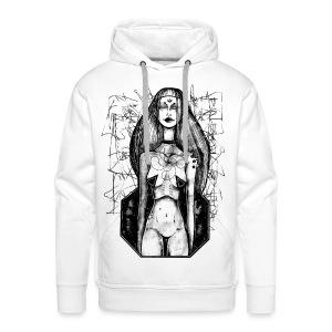 Swastika Space - Mannen Premium hoodie