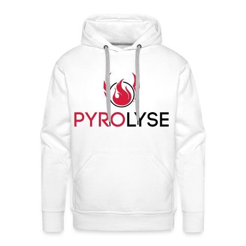 Pyrolyse Logo klein - Männer Premium Hoodie