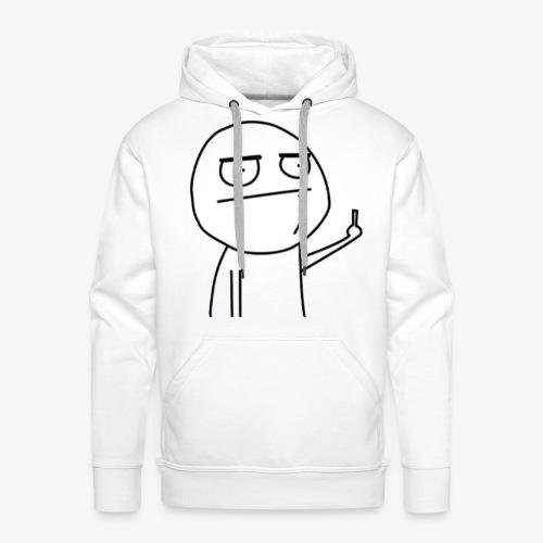 Fuck by Slaaw - Sweat-shirt à capuche Premium pour hommes