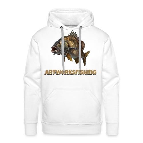ArtWorksFishing Raubfisch Serie - Männer Premium Hoodie